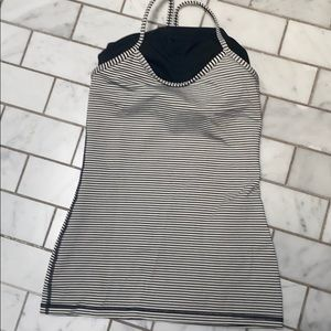 Lululemon fitted workout top
